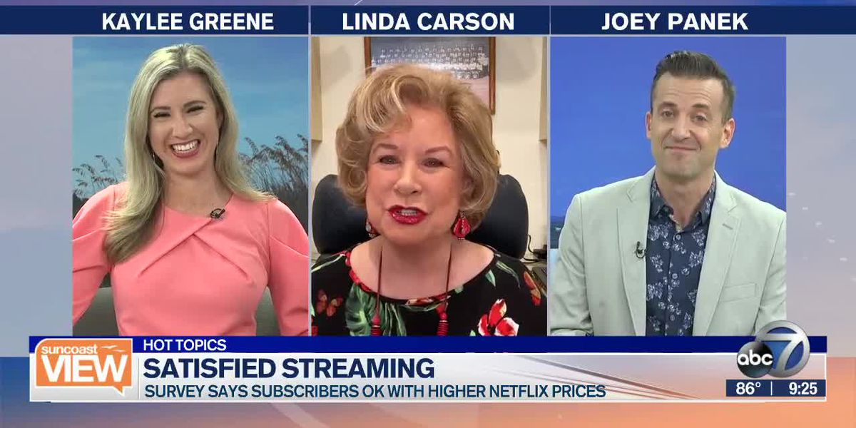 HOT TOPIC: How much will you pay for Netflix? | Suncoast View