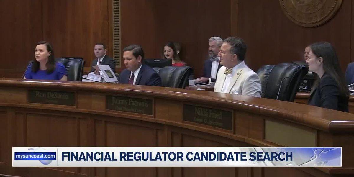 Search has began for Florida's third Top Financial Regulator