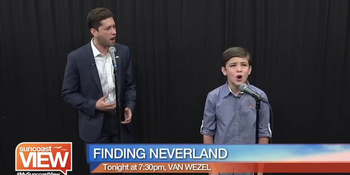 """Hear a Powerful Performance from """"Finding Neverland"""" at the Van Wezel 