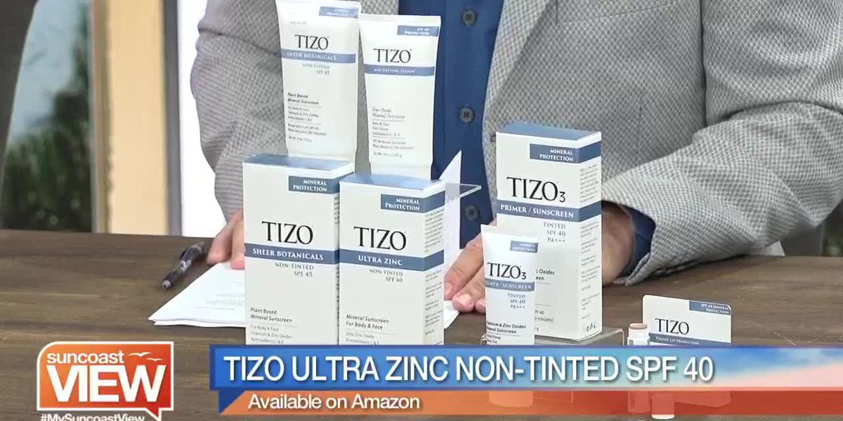 How Safe is Your Sunscreen? Our Beauty Expert Explains the Benefits of Tizo | Suncoast View