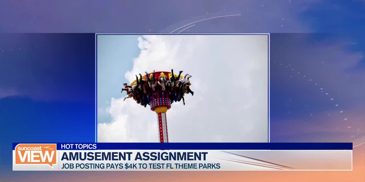 Jewish Safety, Teachers Getting Fired, and Theme Park Testing | Suncoast View