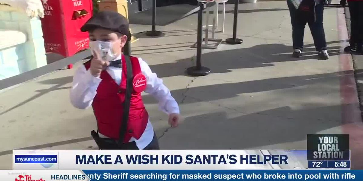 Make A Wish Kid Santa's Helper