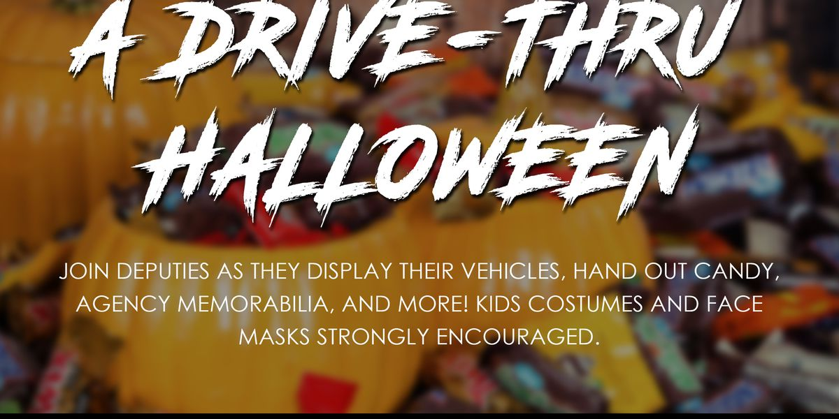 Sarasota County Sheriff's Office offers drive-thru trick-or-treating