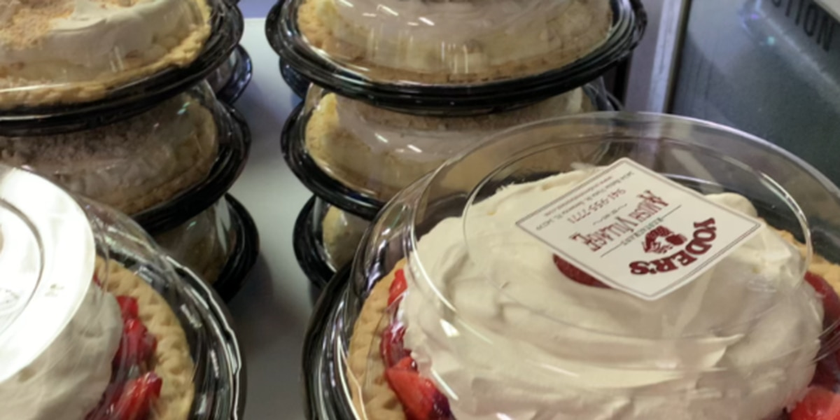 Yoder's pie tradition a little different due to the pandemic