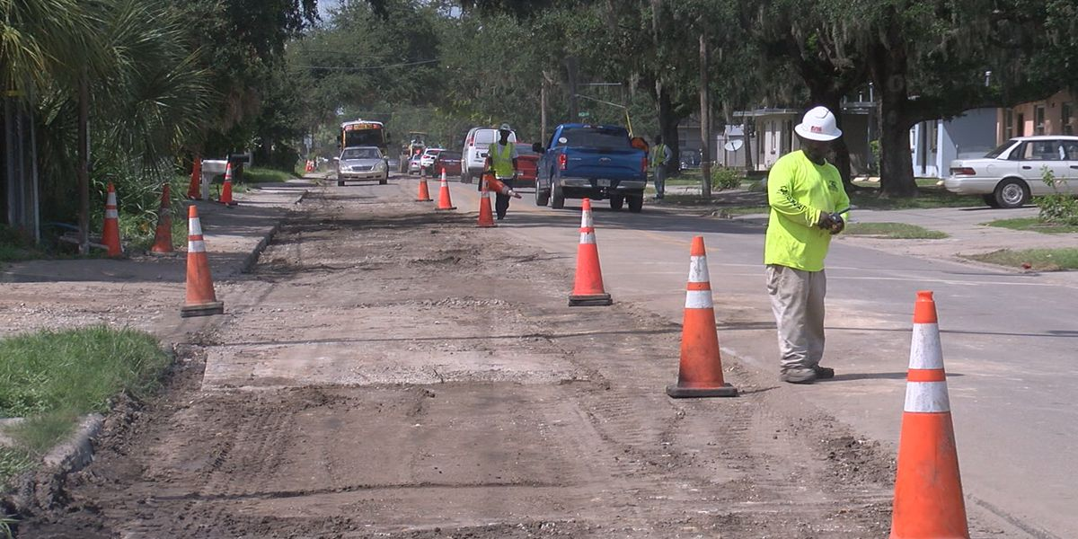Bumpy ride for Newtown residents during water main replacement project