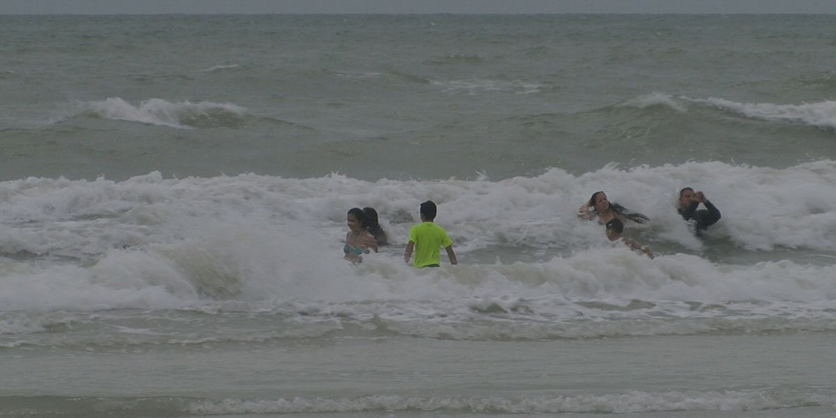Rip current concerns following stormy weather on the Suncoast