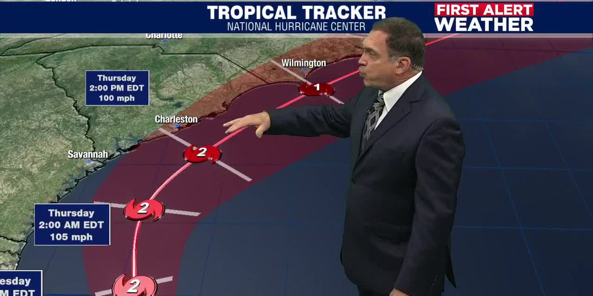 Suncoast will see sunny skies and breezy winds thanks to Hurricane Dorian