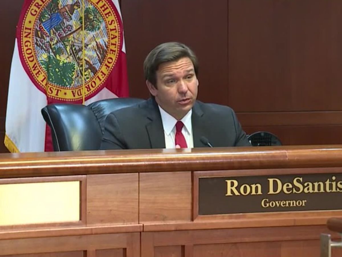 Gov. DeSantis releases statement condemning looters, urging peace