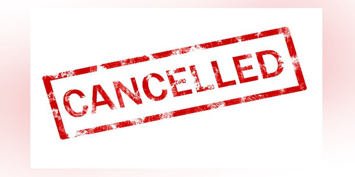 FIRST ALERT WEATHER: Sarasota-Manatee Events cancelled due to inclement weather for Sun. Jan 27