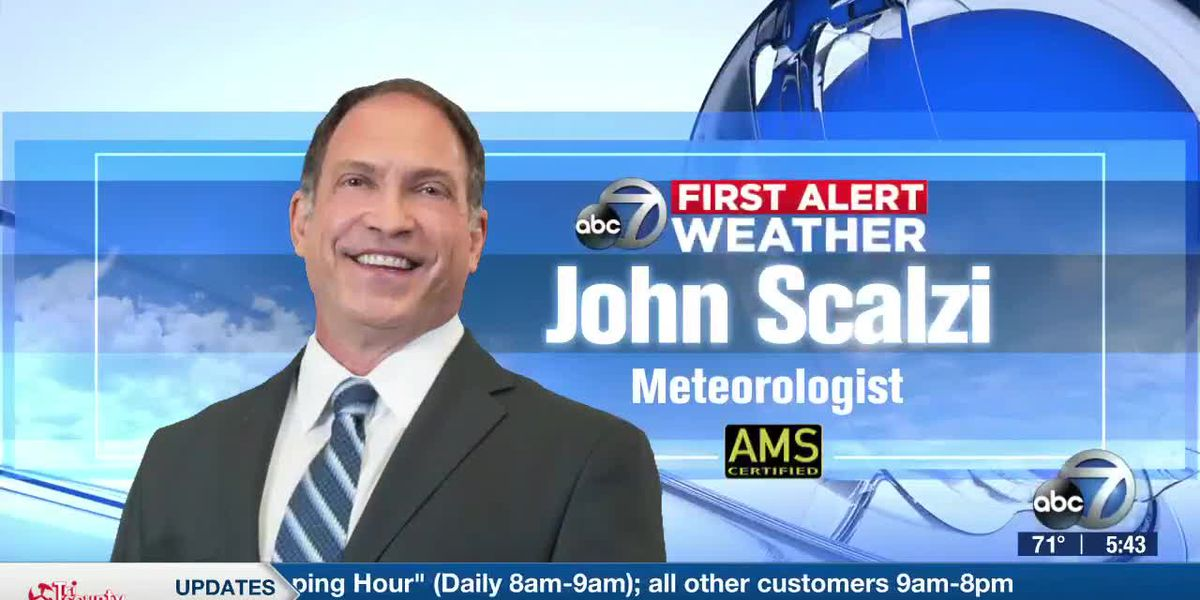 First Alert Weather: Increasing rain chances today and into next week