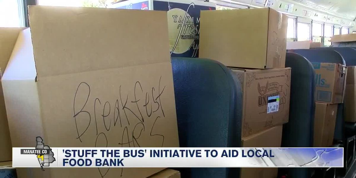 Food Bank of Manatee holds annual 'Stuff the Bus'