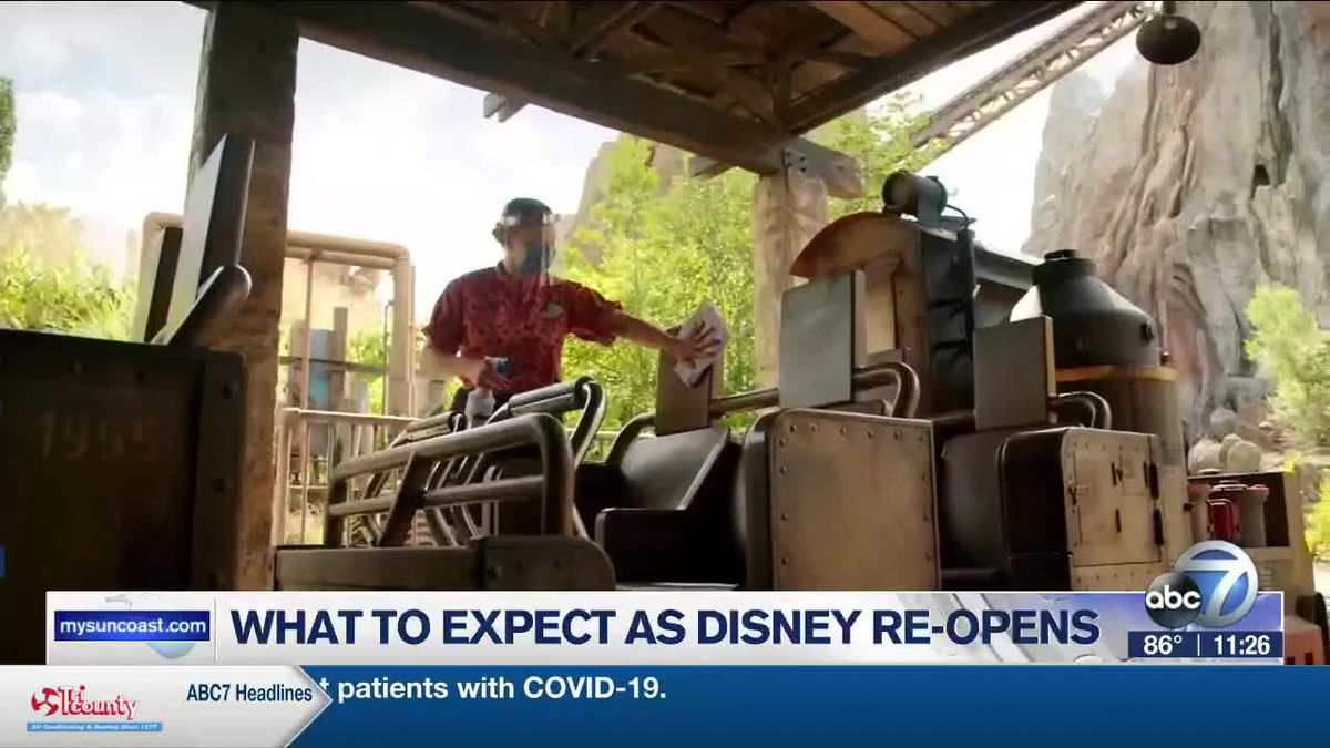 What to Expect as Disney Re-Opens
