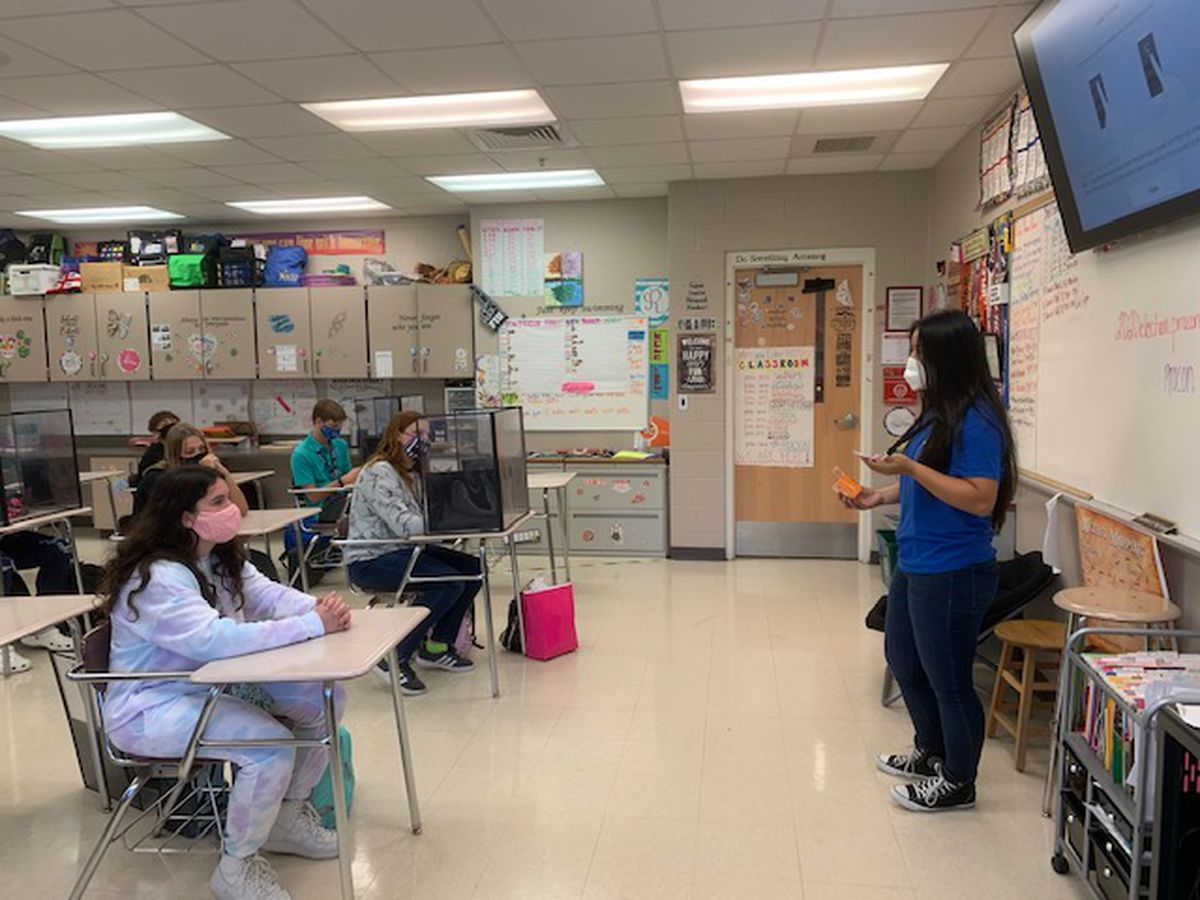Chalkboard Champion: Teacher excelling through in-class and online learning