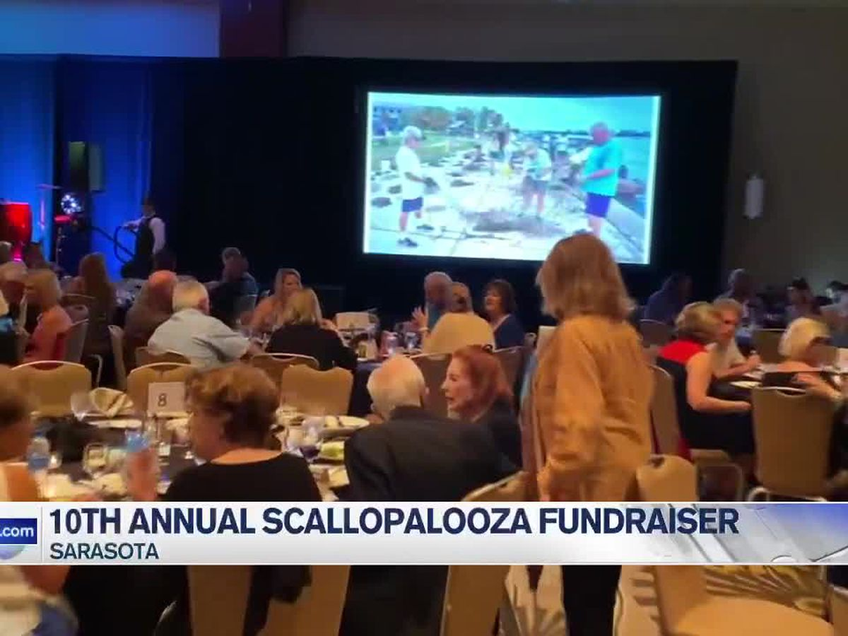 Sarasota Bay hosts 10th annual Scallopalooza fundraiser
