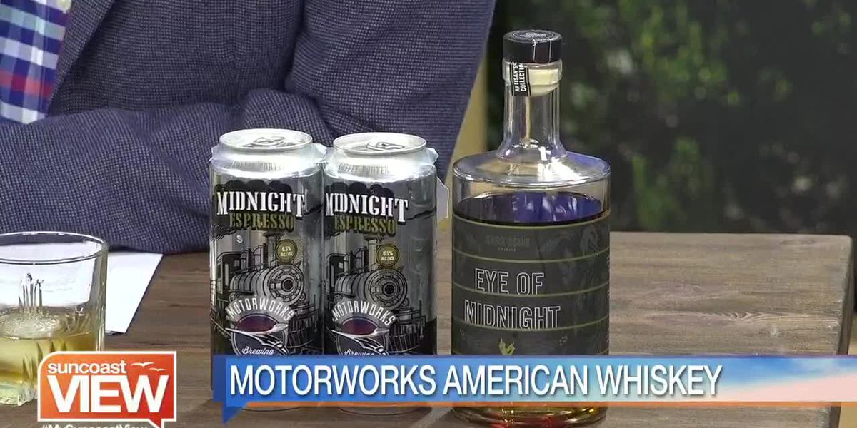 We Try the New Motorworks American Whiskey   Suncoast View
