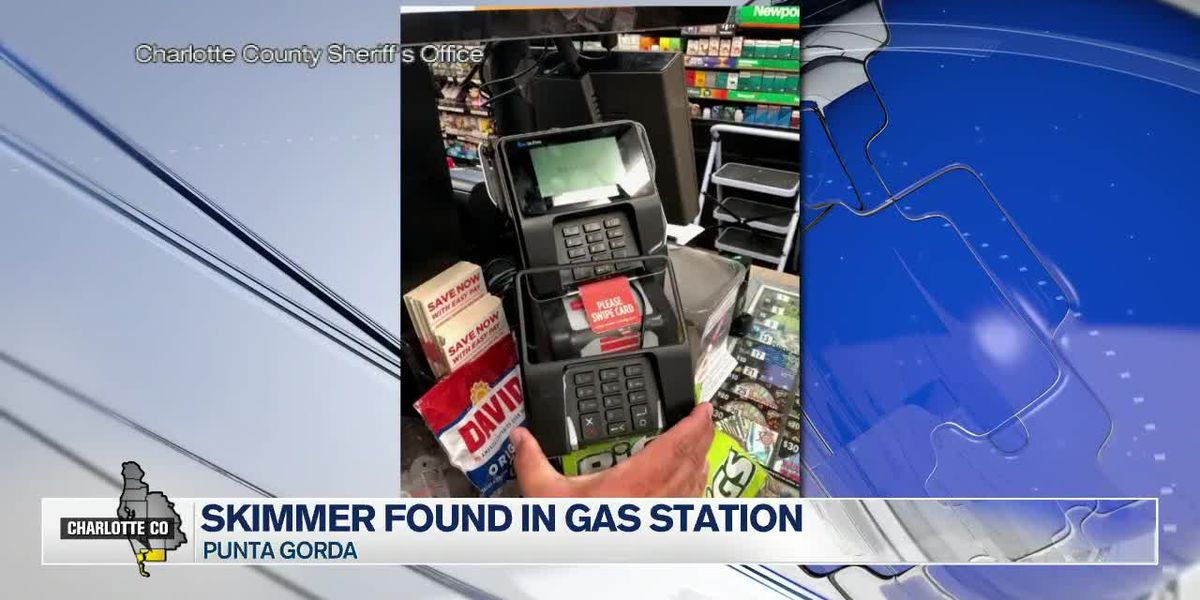 Credit card skimmer found at gas station in Punta Gorda