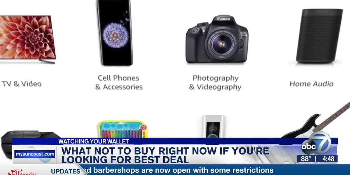 What Not to Buy Right Now if Your'er Looking for Best Deal