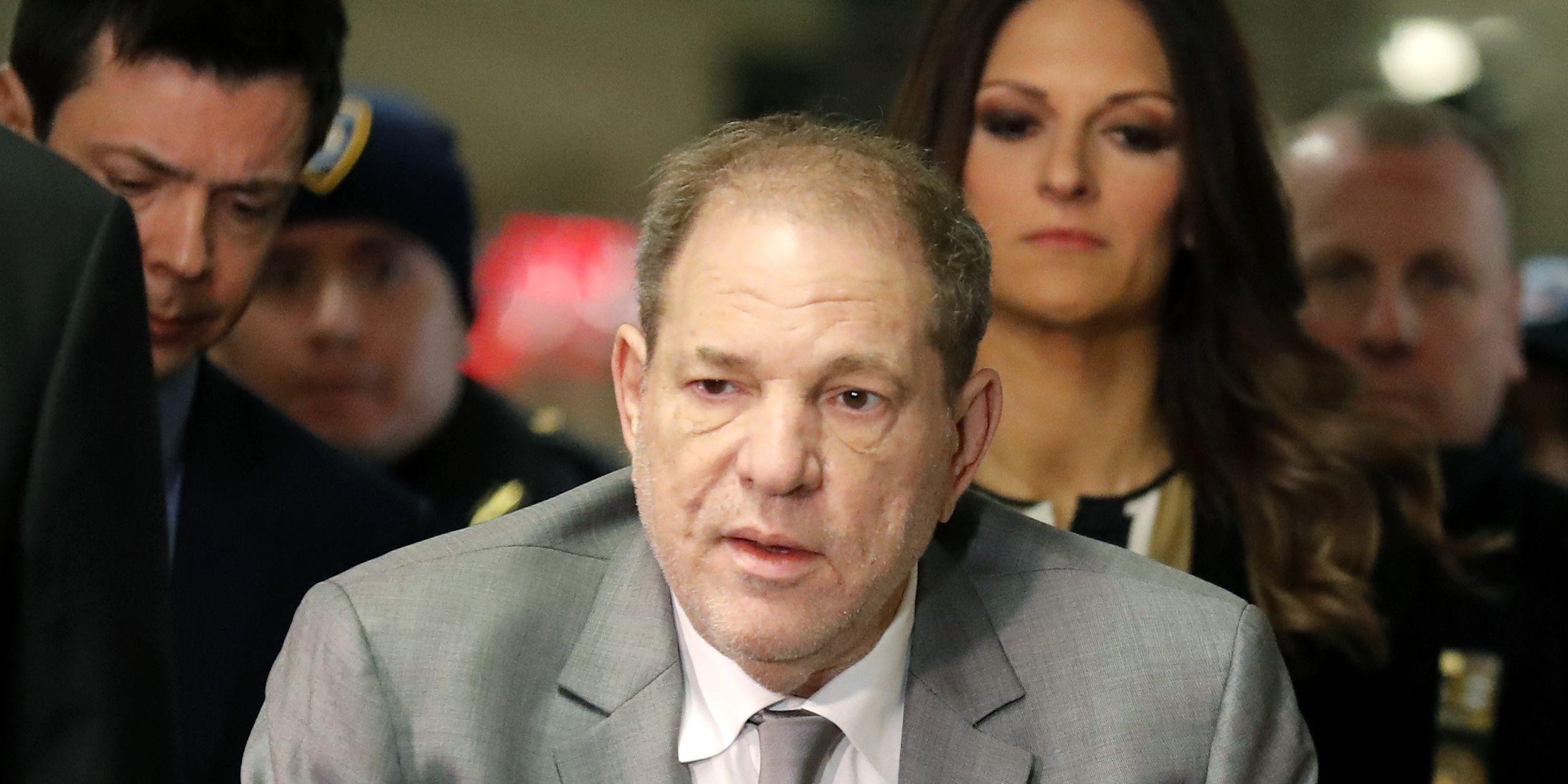 Weinstein trial opens, portraying ex-producer as predator