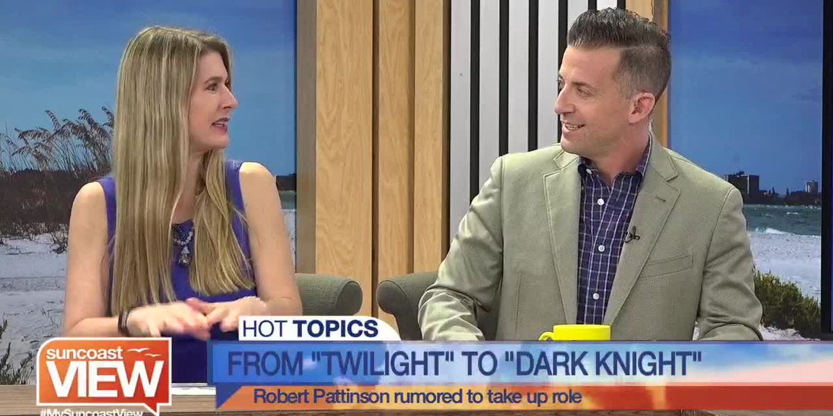 """Robert Pattinson as Batman? A """"Back to the Future"""" Musical?! We Chat the Latest Hollywood News 