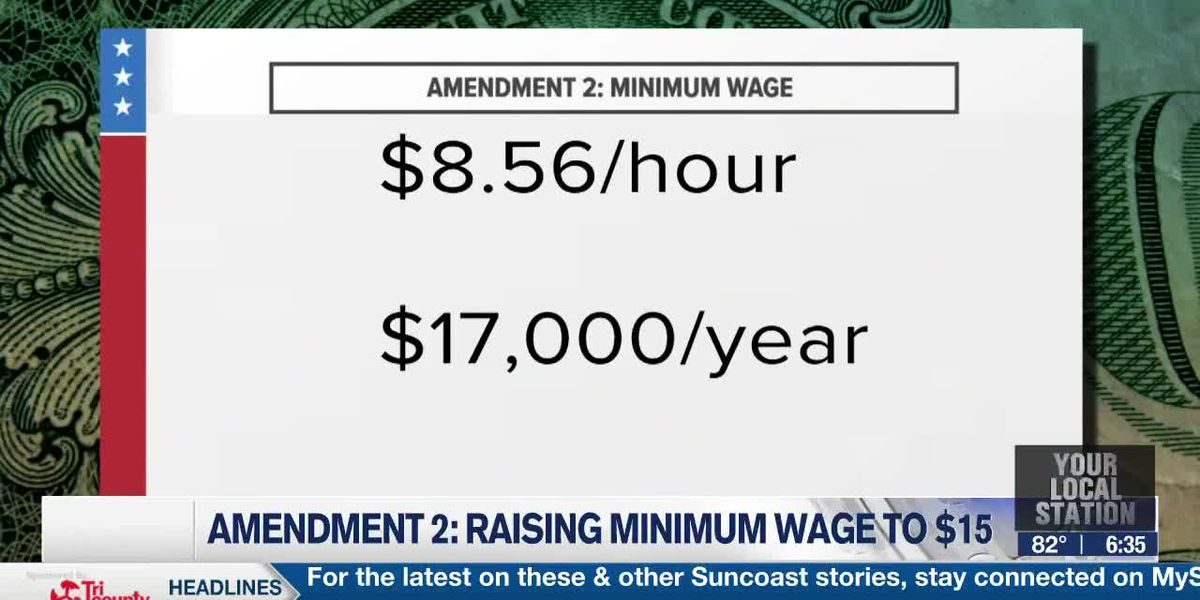 What's on the ballot: Florida's Amendment 2 would raise minimum wage to $15