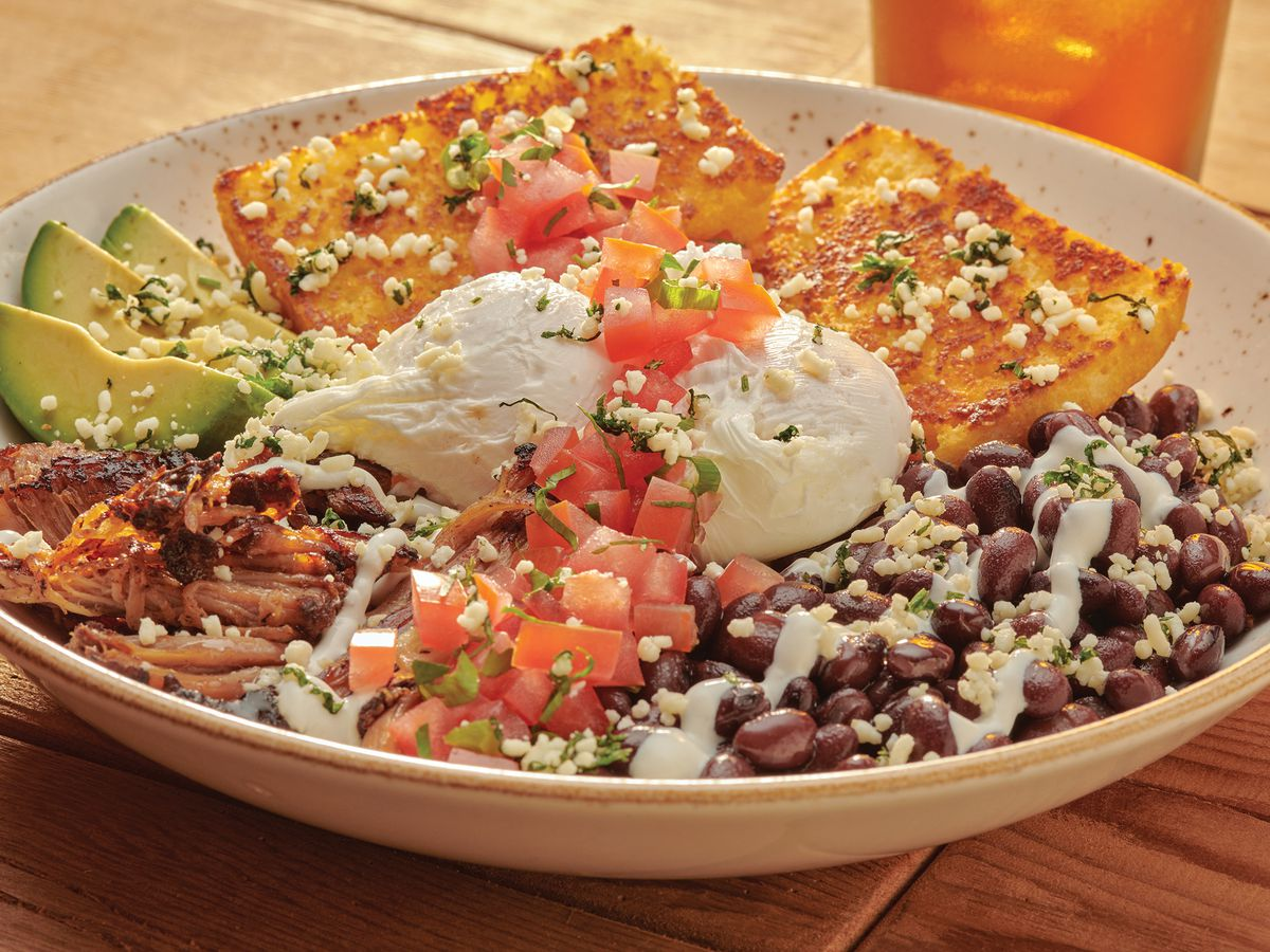 Recipe: First Watch's Cornbread Carnitas Bowl | Suncoast View