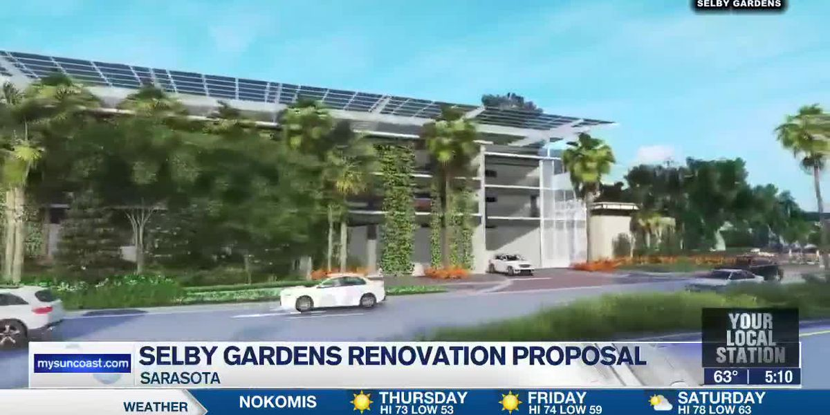 City of Sarasota moving forward with Selby Gardens renovations