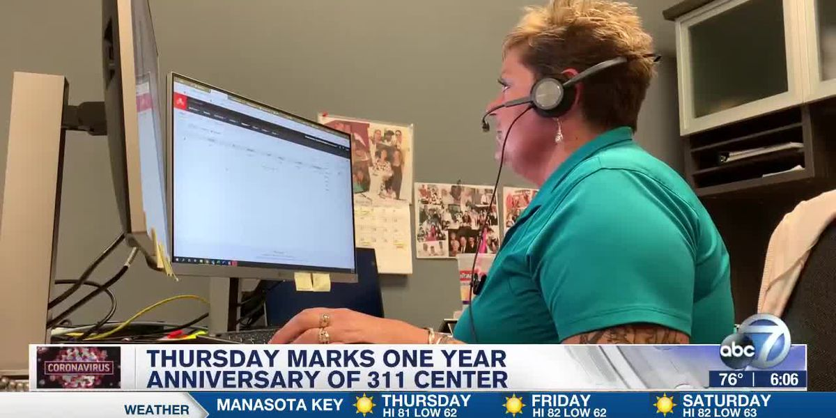Manatee County's 311 call center providing more than government services during the pandemic