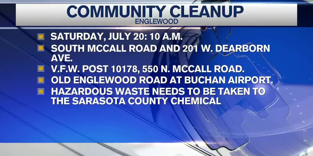 Englewood planning a community cleanup for Saturday