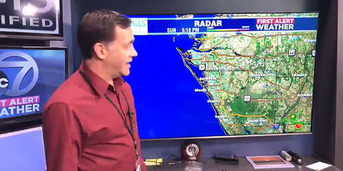First Alert Weather - Rain Chances Monday