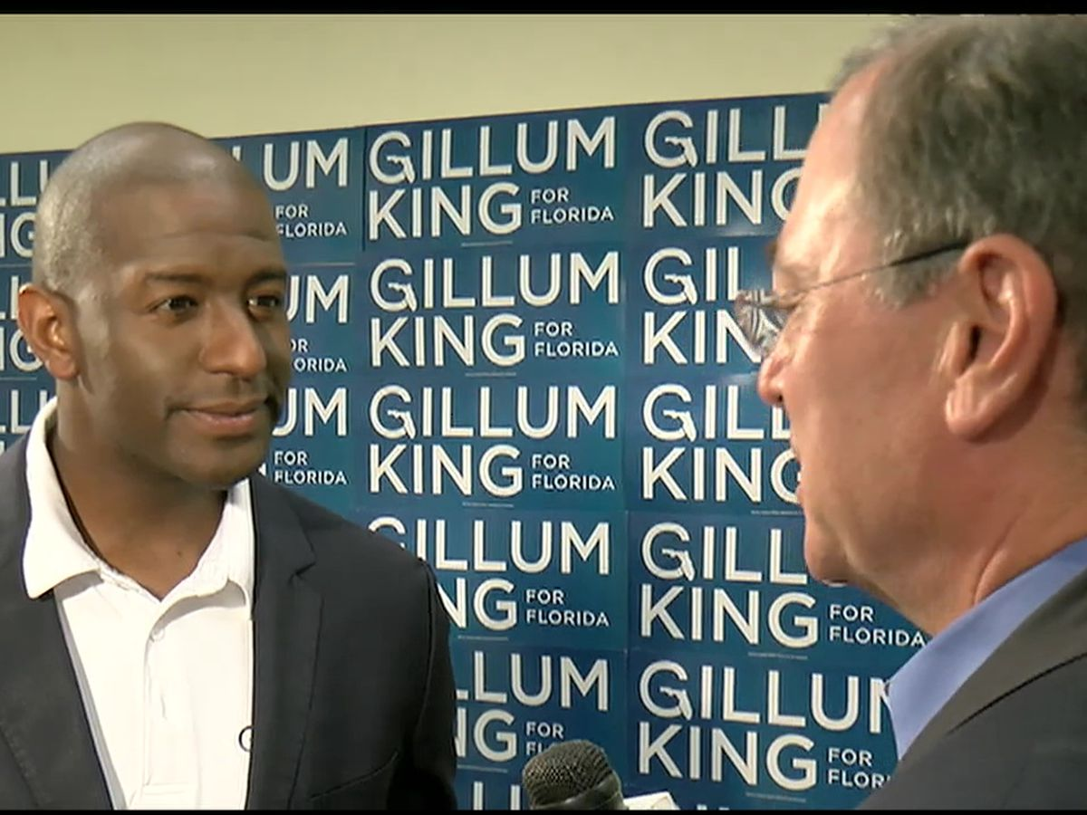 Andrew Gillum may possibly be a candidate for the 2020 Presidential Election