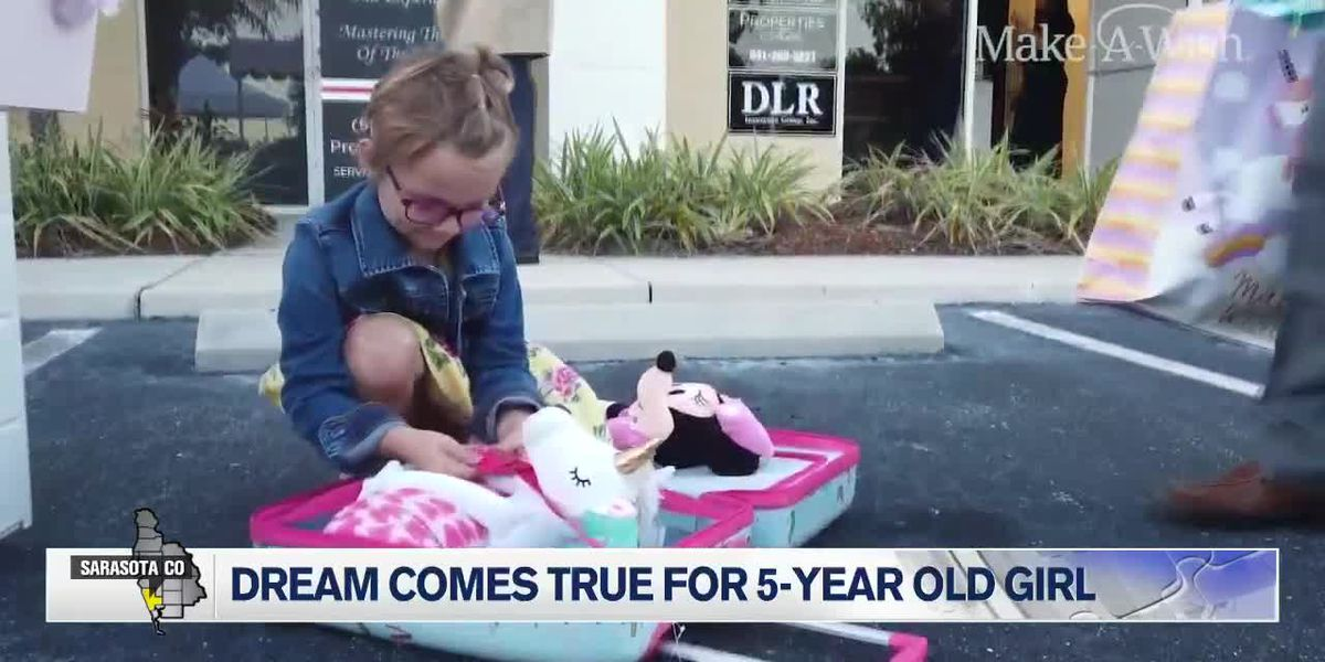 Dream Comes True for 5-Year-Old Girl