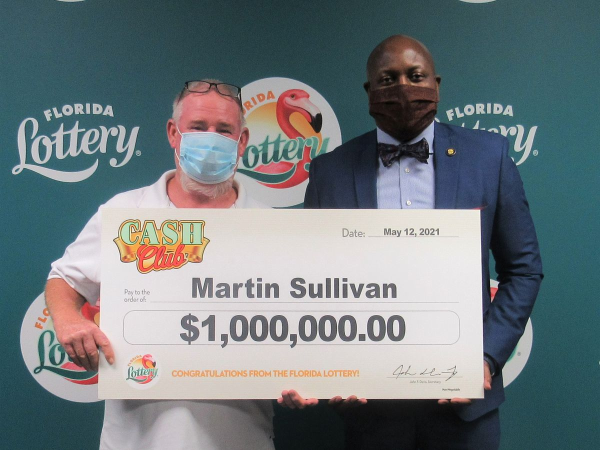 Punta Gorda man gives wife $1 million winning scratch-off for Mother's Day