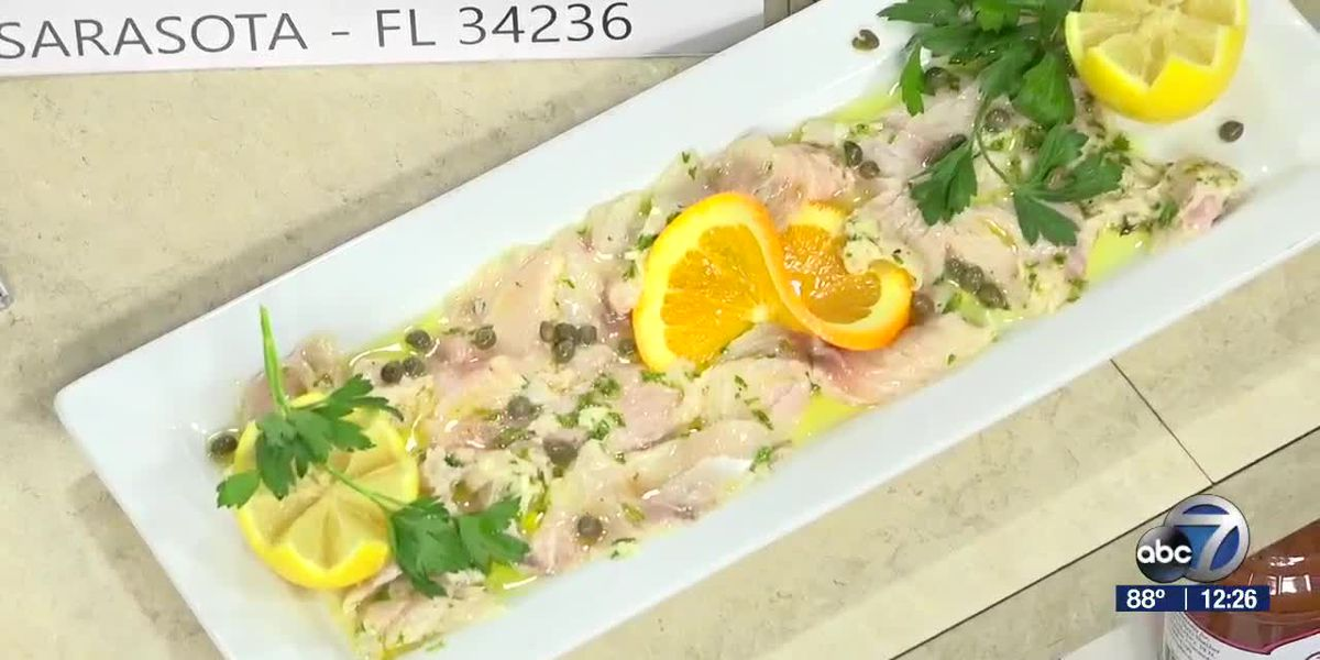 Fish Carpaccio From CasAntica Ristorante