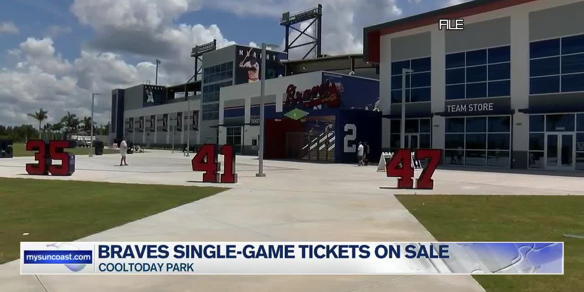 Braves Single-Game Tickets on Sale