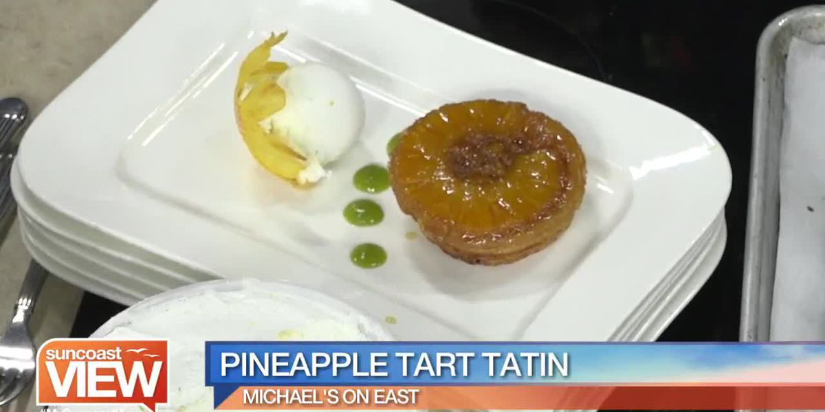 Recipe for Pineapple Tart Tatin by Michael's on East | Suncoast View