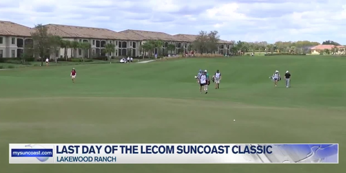 After a weeklong, the LECOM Suncoast Classic comes to an end
