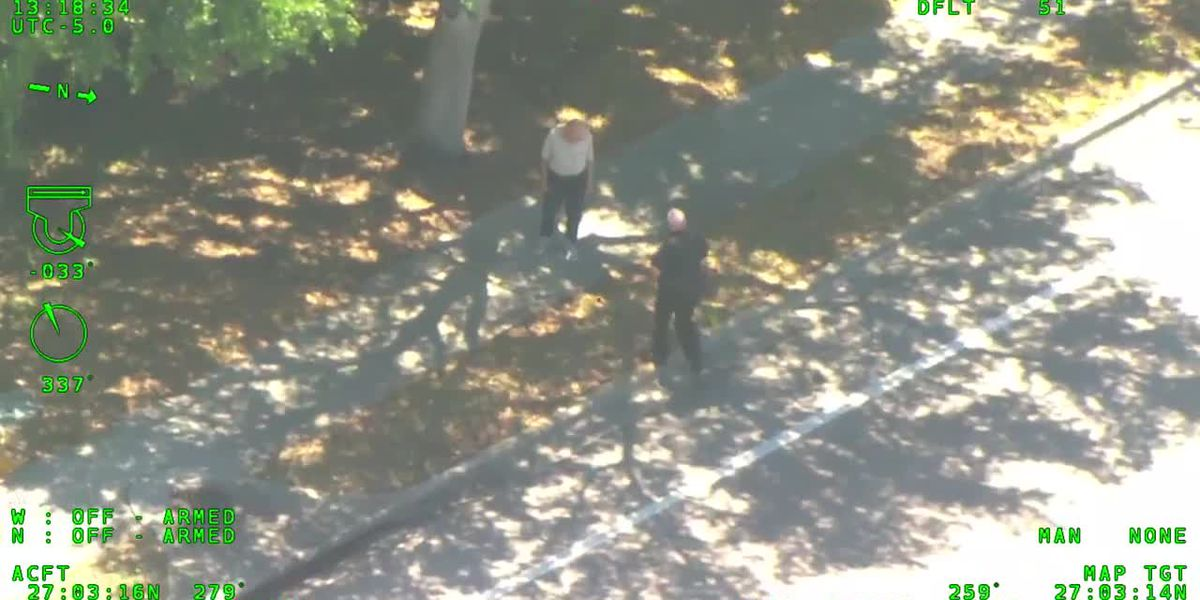 VIDEO: Deputies in helicopter locate missing 88-year-old man suffering from dementia