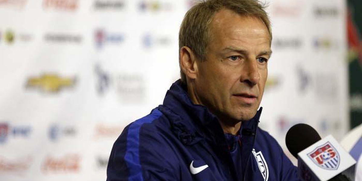 U.S. soccer fires men's team coach Klinsmann