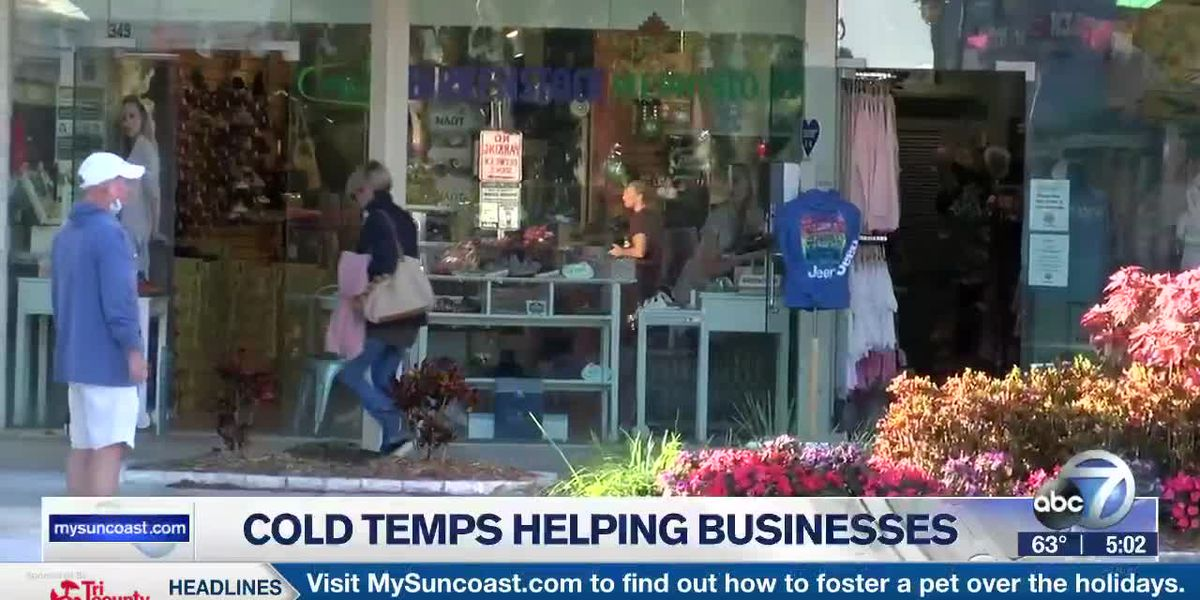 Cold Temps Helping Businesses