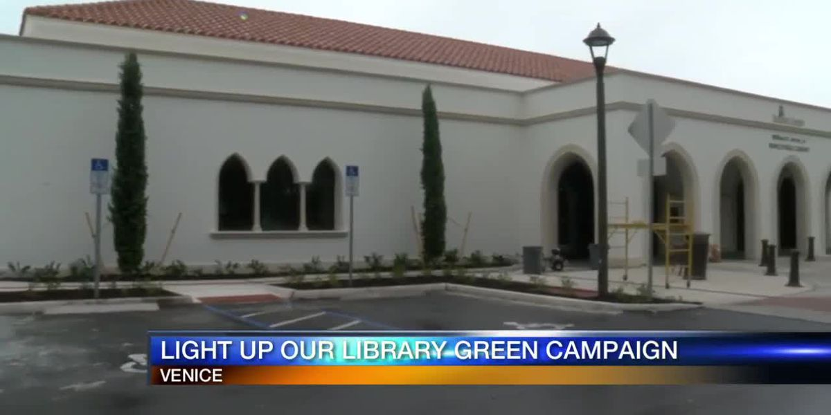 Light Up Our Library Green Campaign