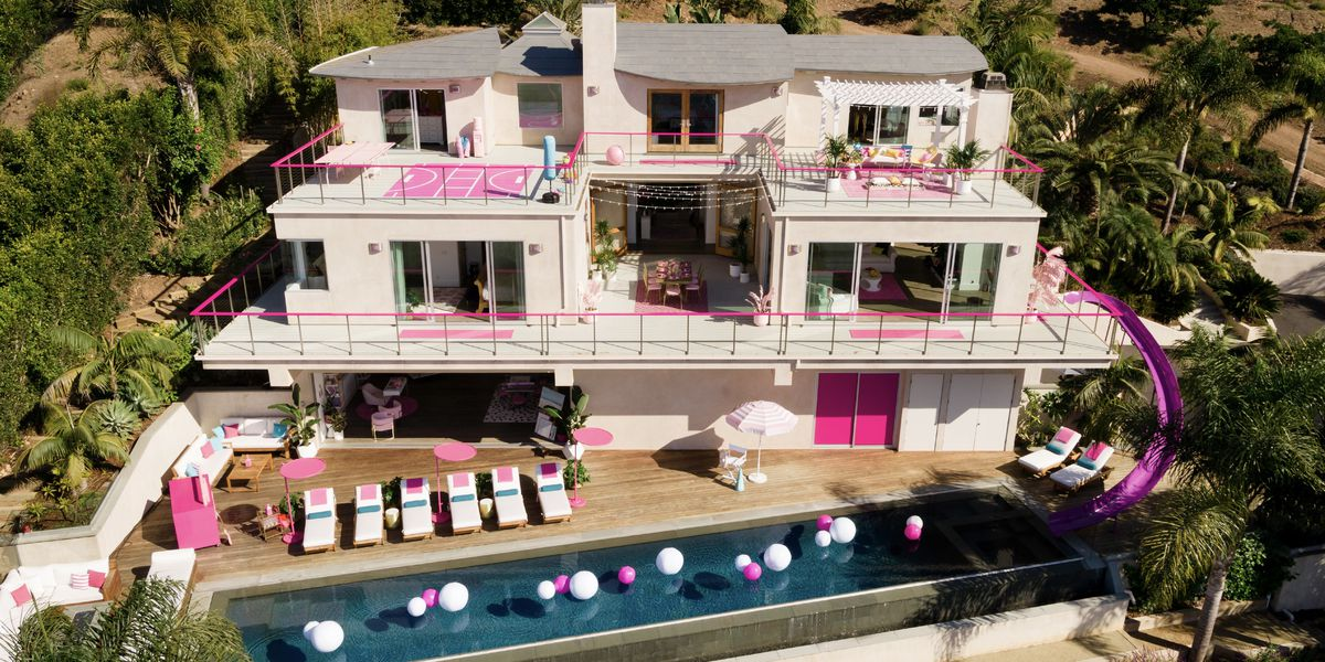 Stay the night in Barbie's Dreamhouse for $60