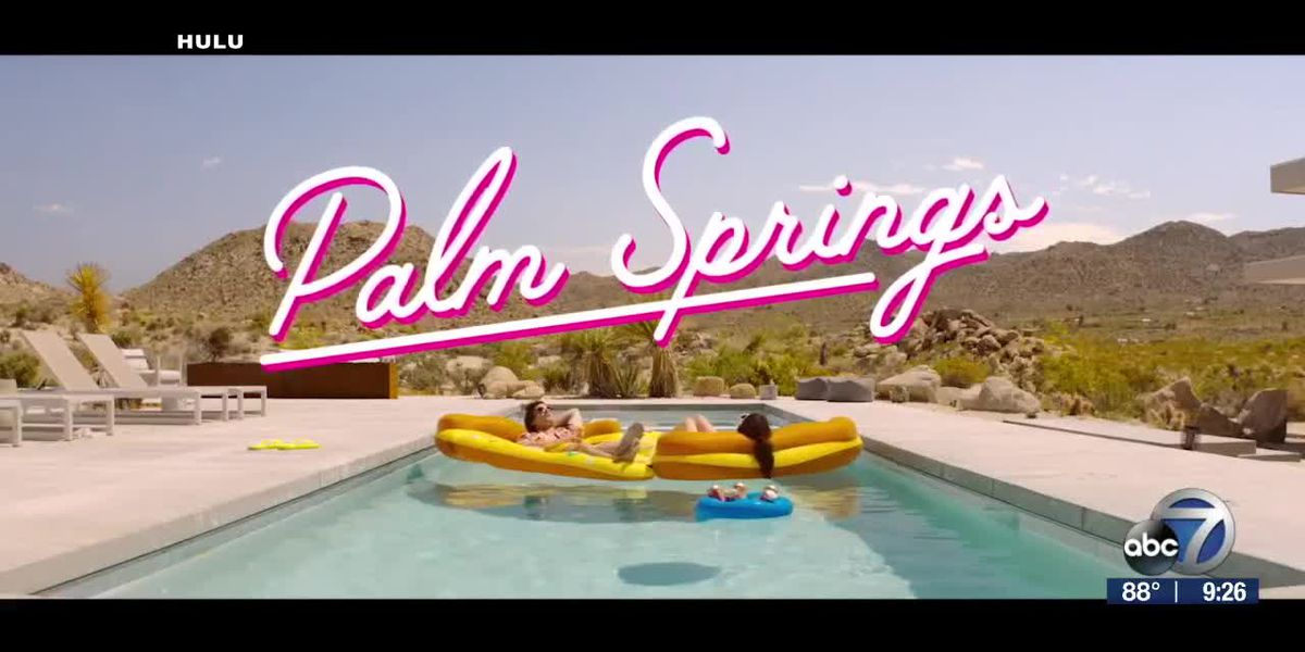 "Summer comedy ""Palm Springs"" premieres this weekend 