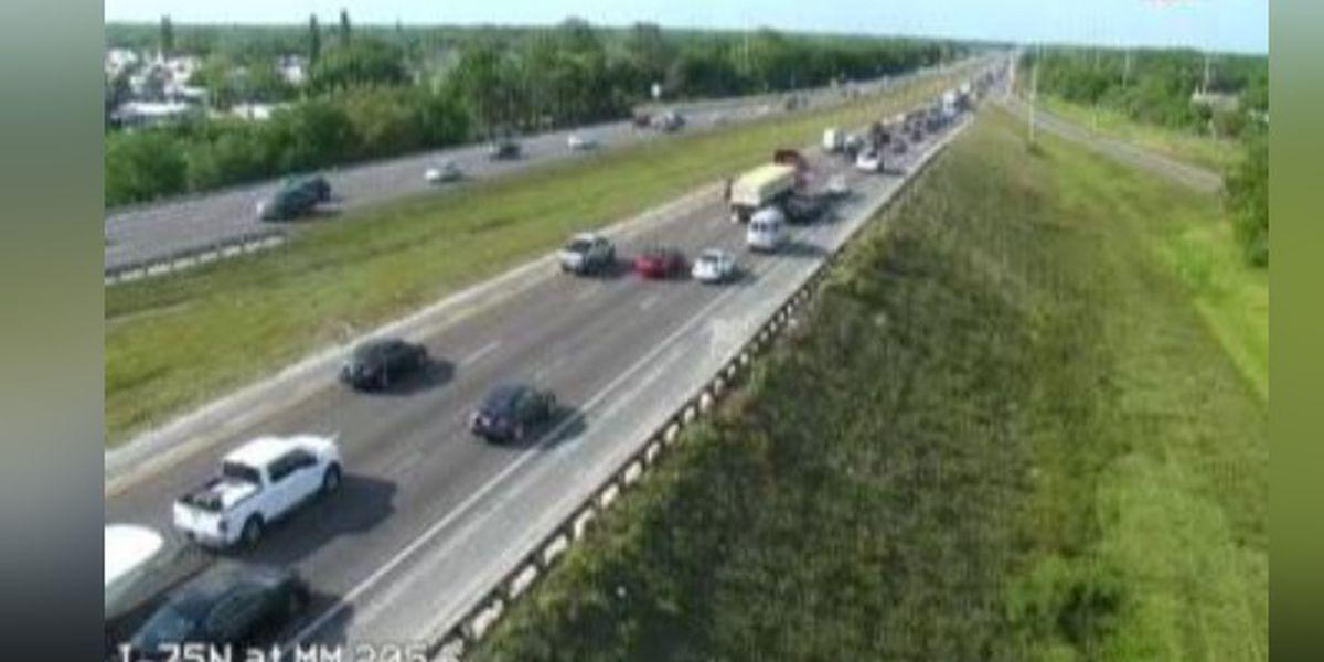 Traffic Alert: Congestion on I-75 on Fruitville Road in Sarasota