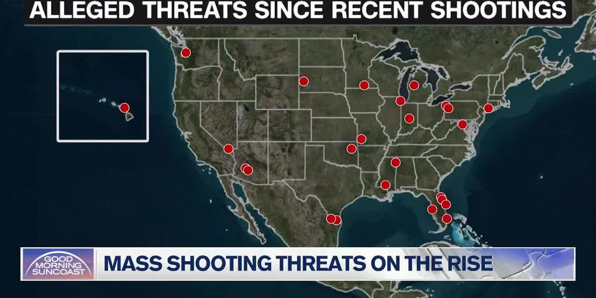 Mass shooting threats on the rise in US
