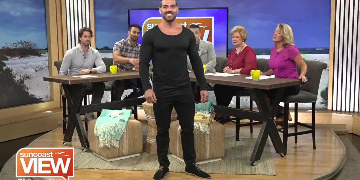 We Get a Fashion Show from the Local Mens Line Oak & Stone Clothing   Suncoast View