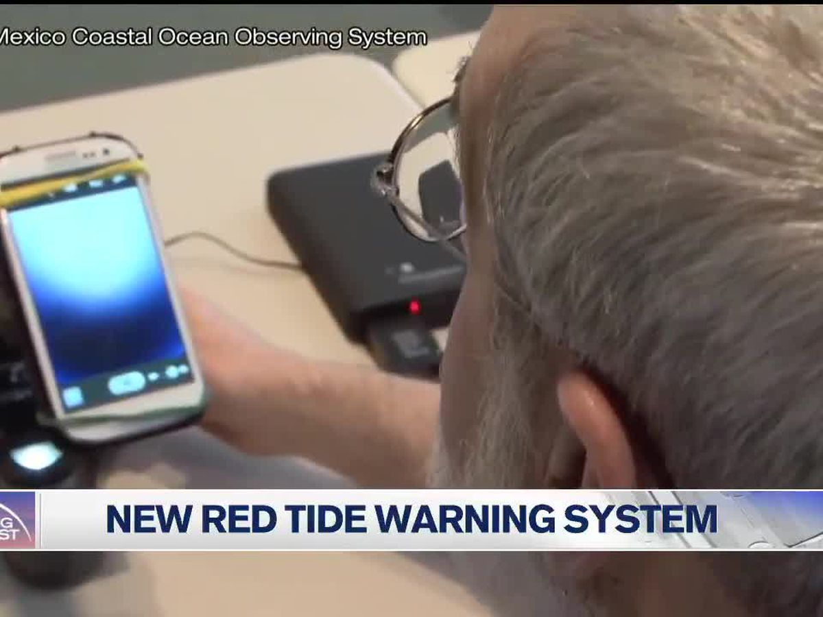 New red tide warning system unveiled
