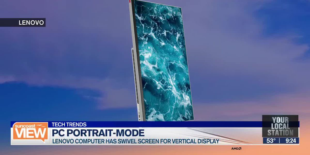 TECH TRENDS: Vertical computer screens & Package Protector | Suncoast View