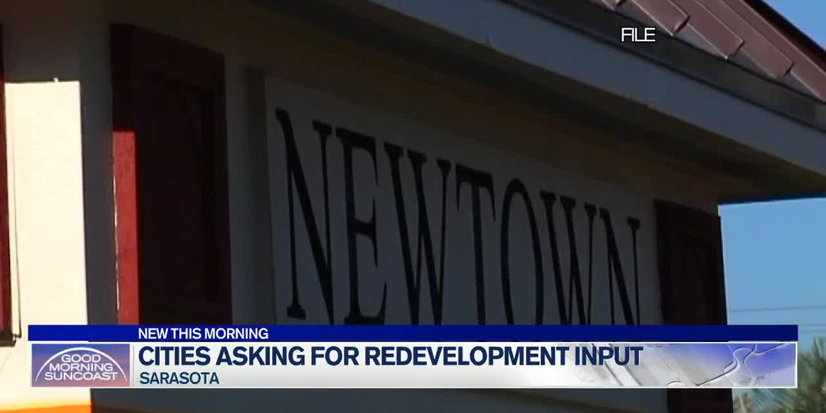 Sarasota asking for input on Newtown redevelopment