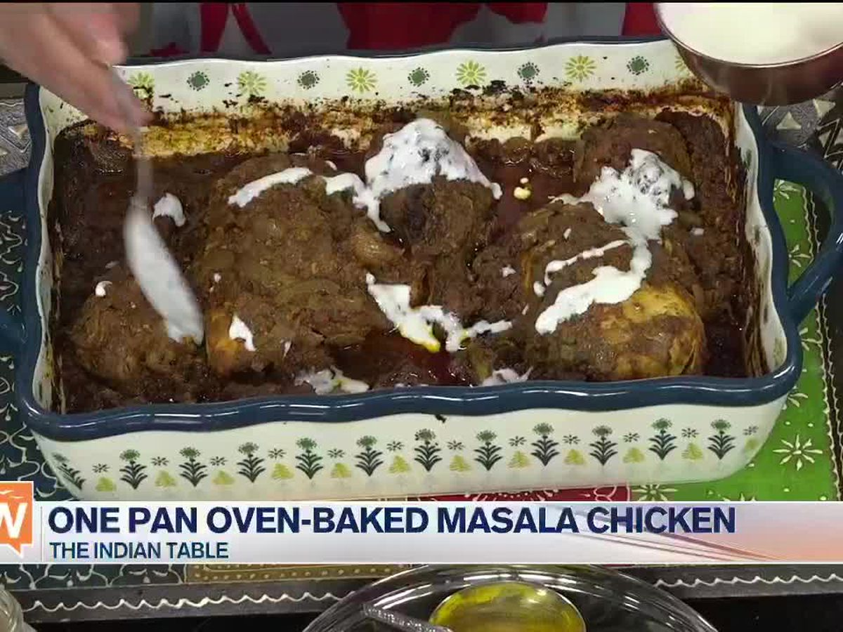 Recipe: One Pan Oven-Baked Masala Chicken by The Indian Table | Suncoast View