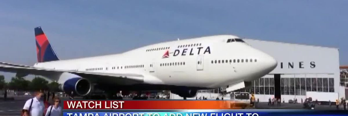 Tampa Airport Adds new Flight to Amsterdam